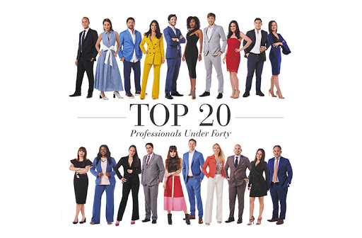 Brickell Magazine Top 20 Professionals Under Forty Moncy Blanco Herrera